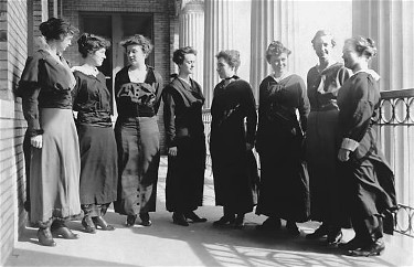 Faculty, Girls Industrial College, 1903